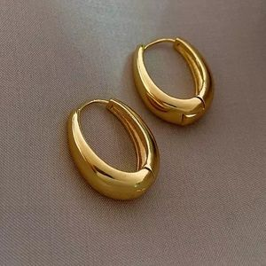 🎉host pick🎉 Oval shape Hoop earrings